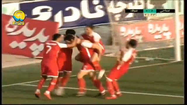 Nassaji v Foolad - Highlights - Week 19 - 2018/19 Iran Pro League