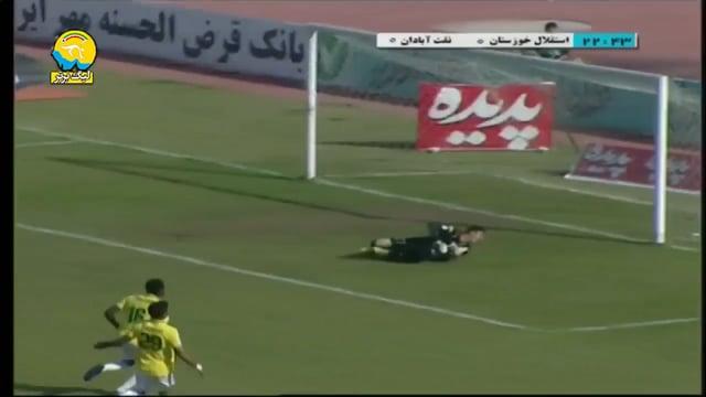 Esteghlal Khuzestan v Sanat Naft - Highlights - Week 19 - 2018/19 Iran Pro League