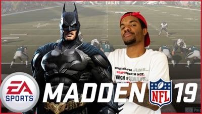 Random Batman HYPE! + Madden Games w/ Ninjas - Juice Stream