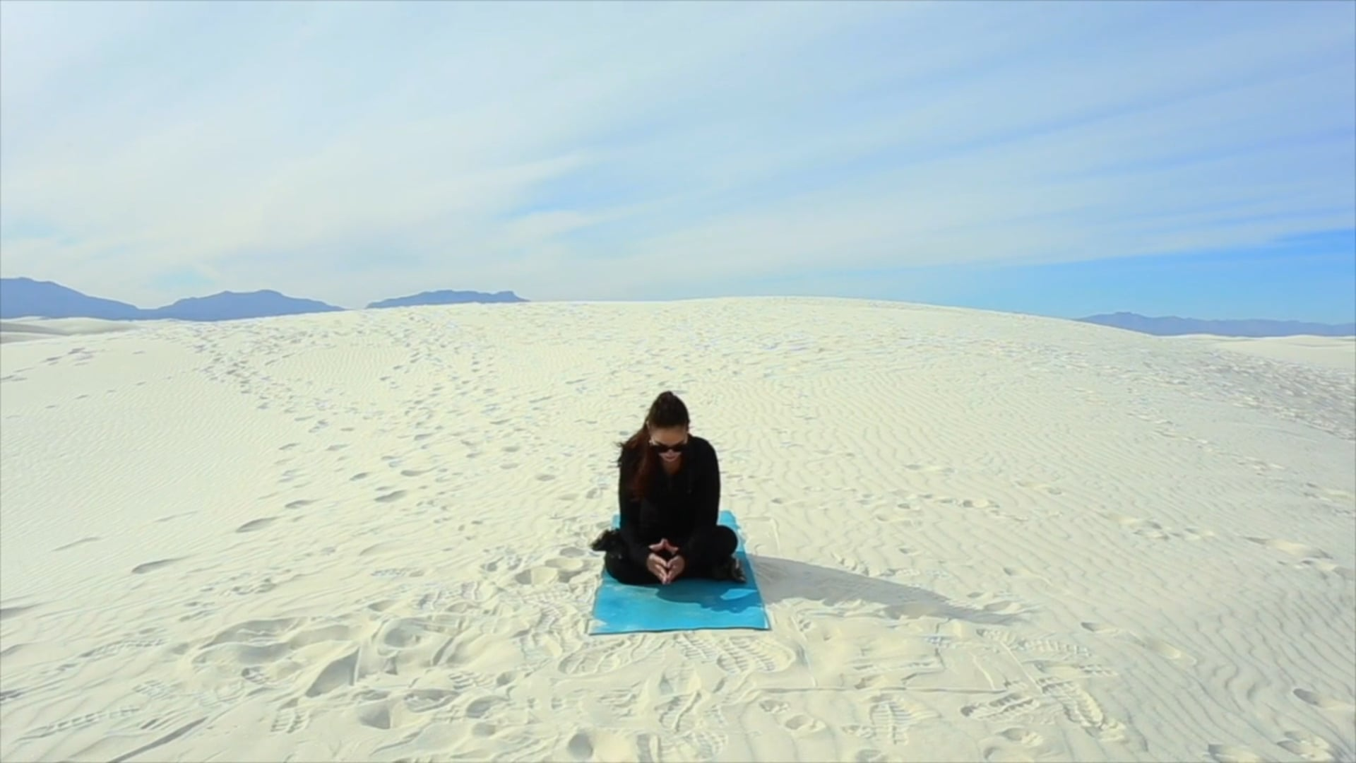 Sweat at White Sands II