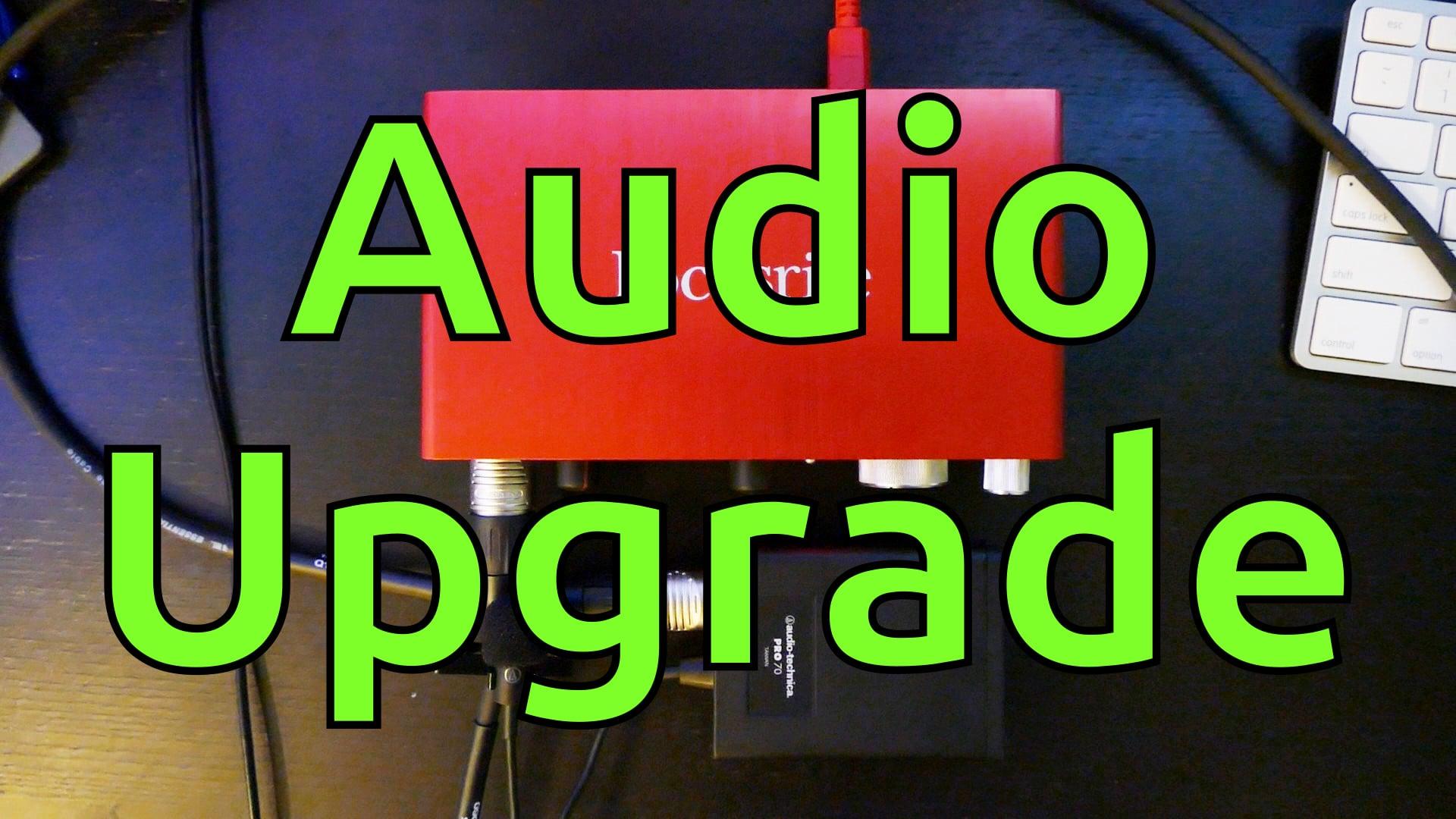 Audio-Technica Pro 70 & Focusrite Scarlett 2i2 Unboxing
