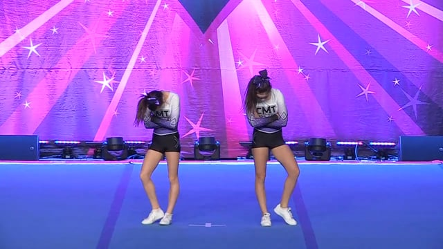 CMT Cheerleading  Cassandre and Koralie - Junior Duo 3