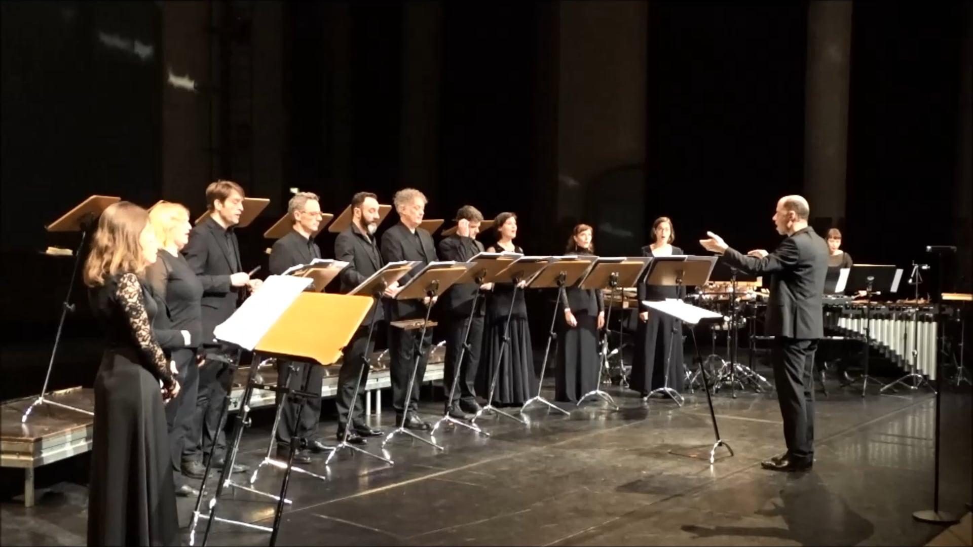 Chor@Berlin 2019: Vocalconsort Berlin (Frank Schwemmer)