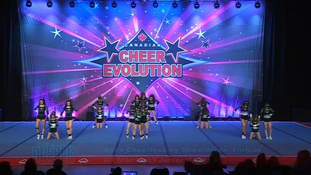Apex Cheerleading Shawinigan  Furious - Int'l Junior (IASF) 3