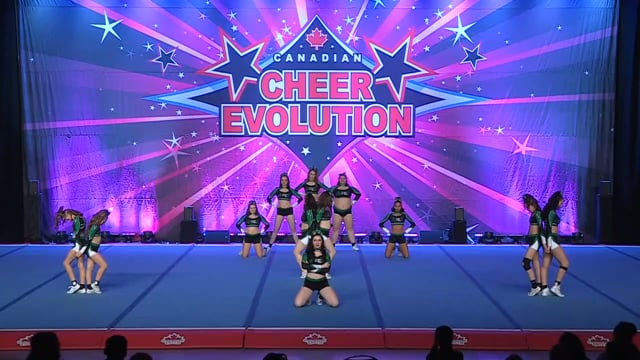Apex Cheerleading Shawinigan  Boldness - Senior Small 4.2