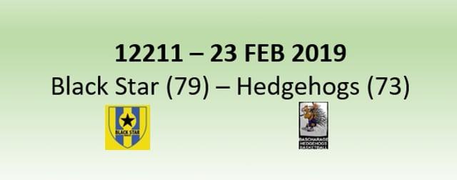 N2H 12211 Black Star Mersch (79) - Hedgehogs Bascharage (73) 23/02/2019