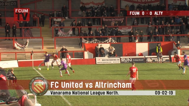 FC United vs Altrincham - 9/02/2019 - Highlights