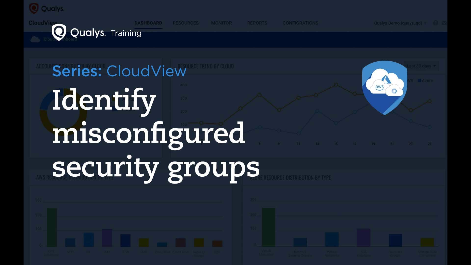 Identify misconfigured security groups
