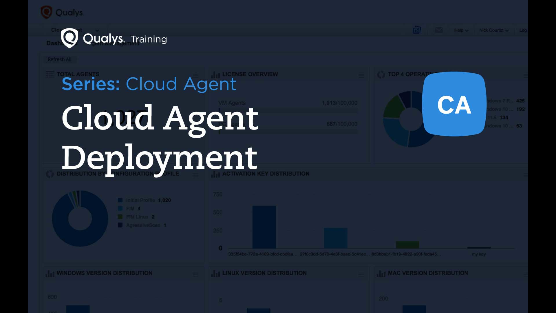 Cloud Agent Deployment