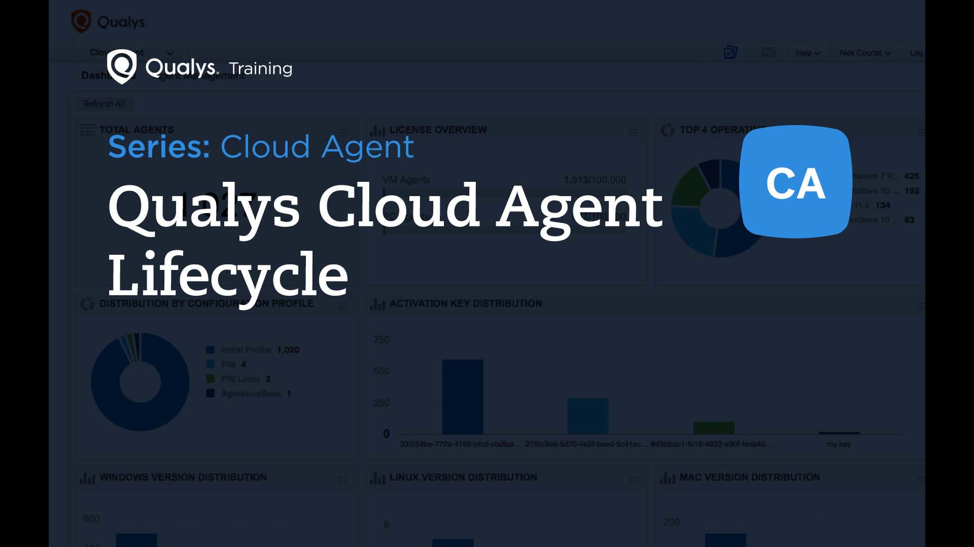 Qualys Cloud Agent Lifecycle