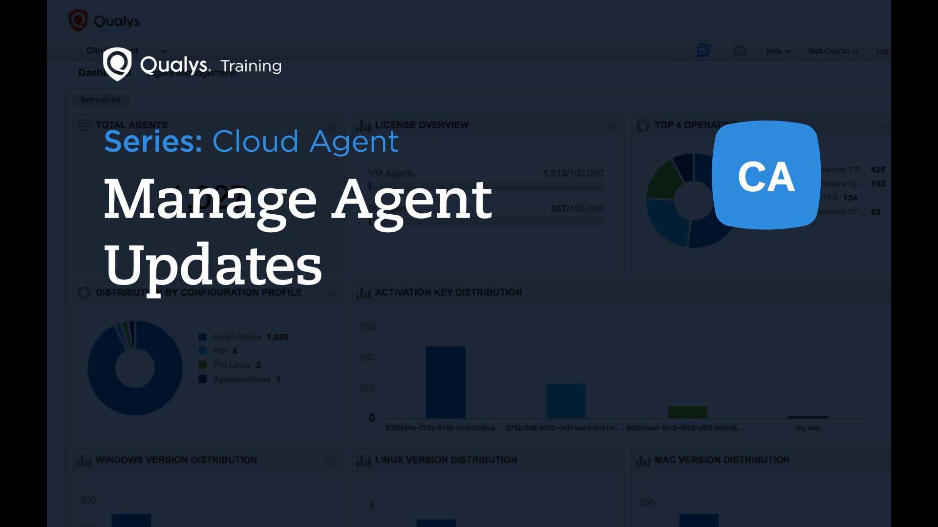 Manage Agent Updates