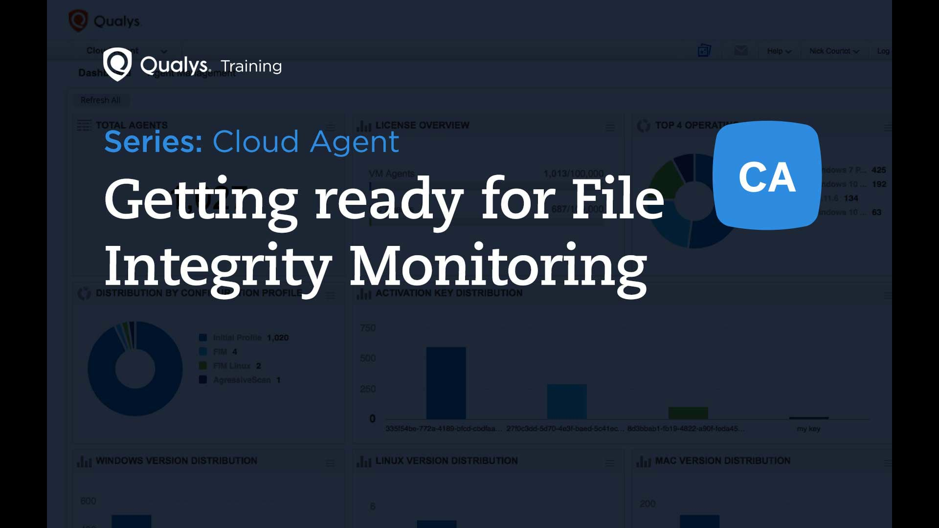 Getting ready for File Integrity Monitoring