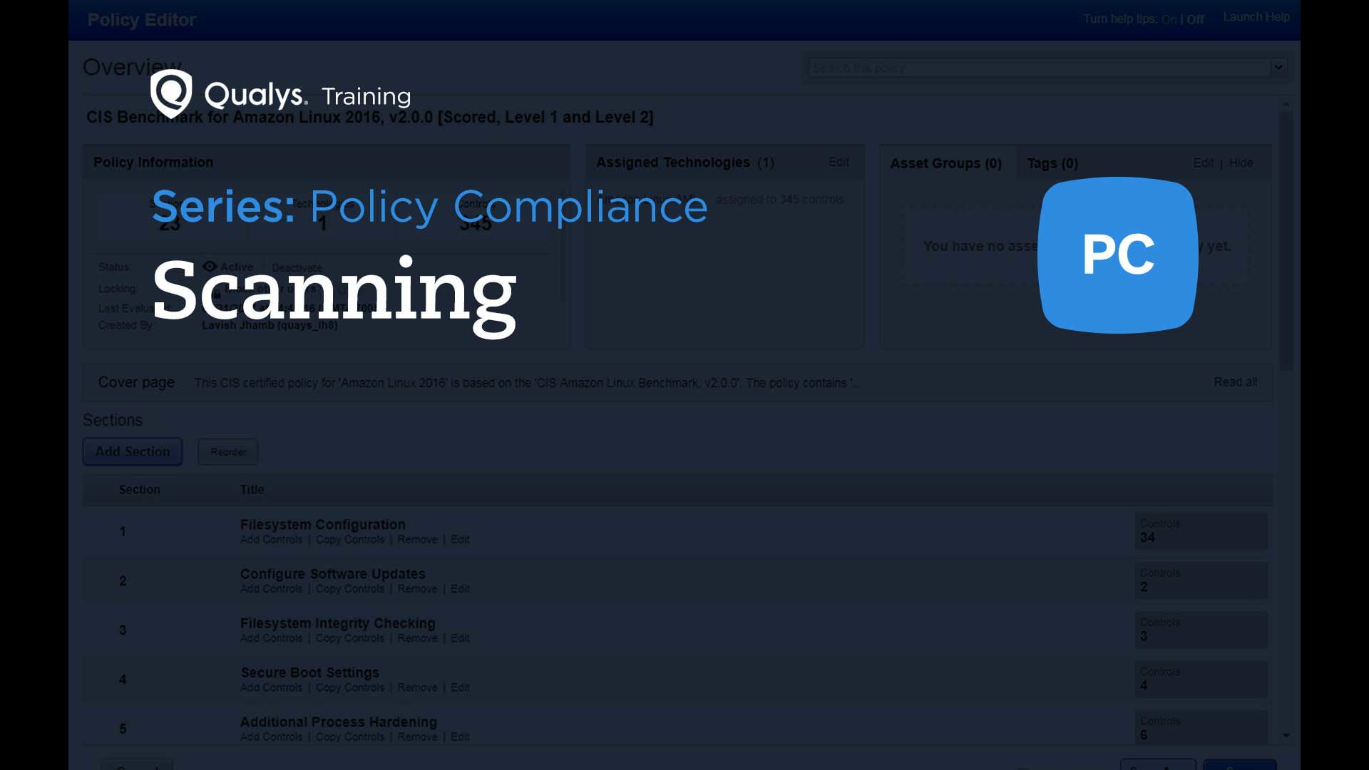 Compliance Scanning