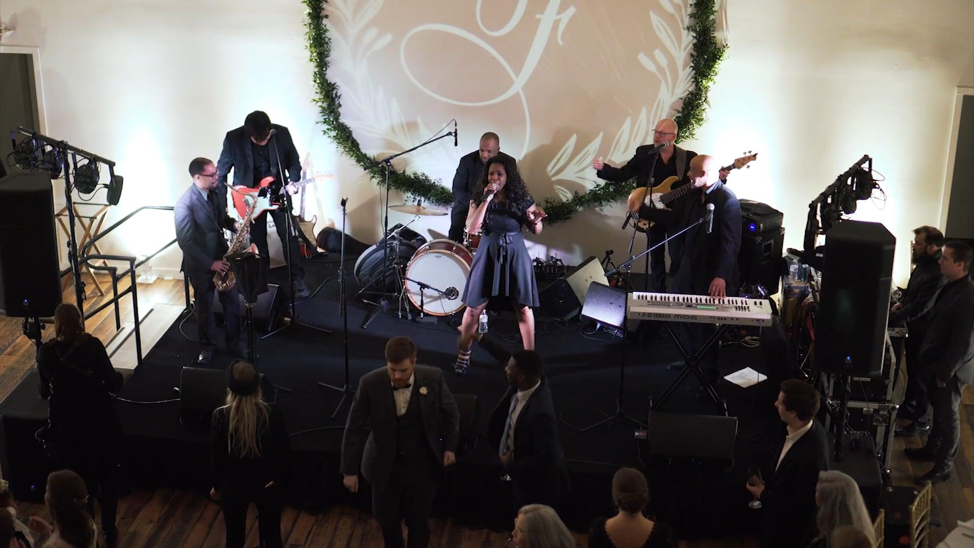 Erik Blue Band at the Fleckenstein Wedding