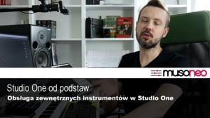 Obsługa zewnętrznych instrumentów w Studio One