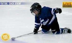 Dad Mics Up 4 Year Old's Hockey Practice For Our Enjoyment