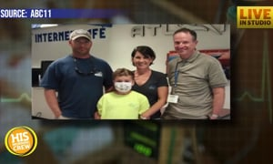 Local Family Gets Free Flights for Medical Treatment
