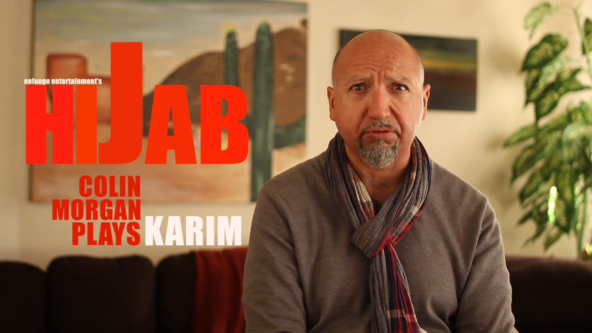 Hijab EPK - Colin Morgan Interview #1