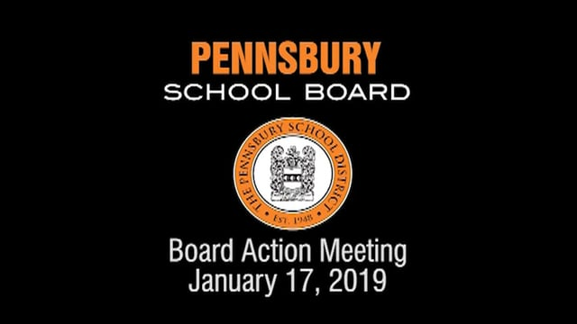 Pennsbury School Board Meeting for January 17, 2018