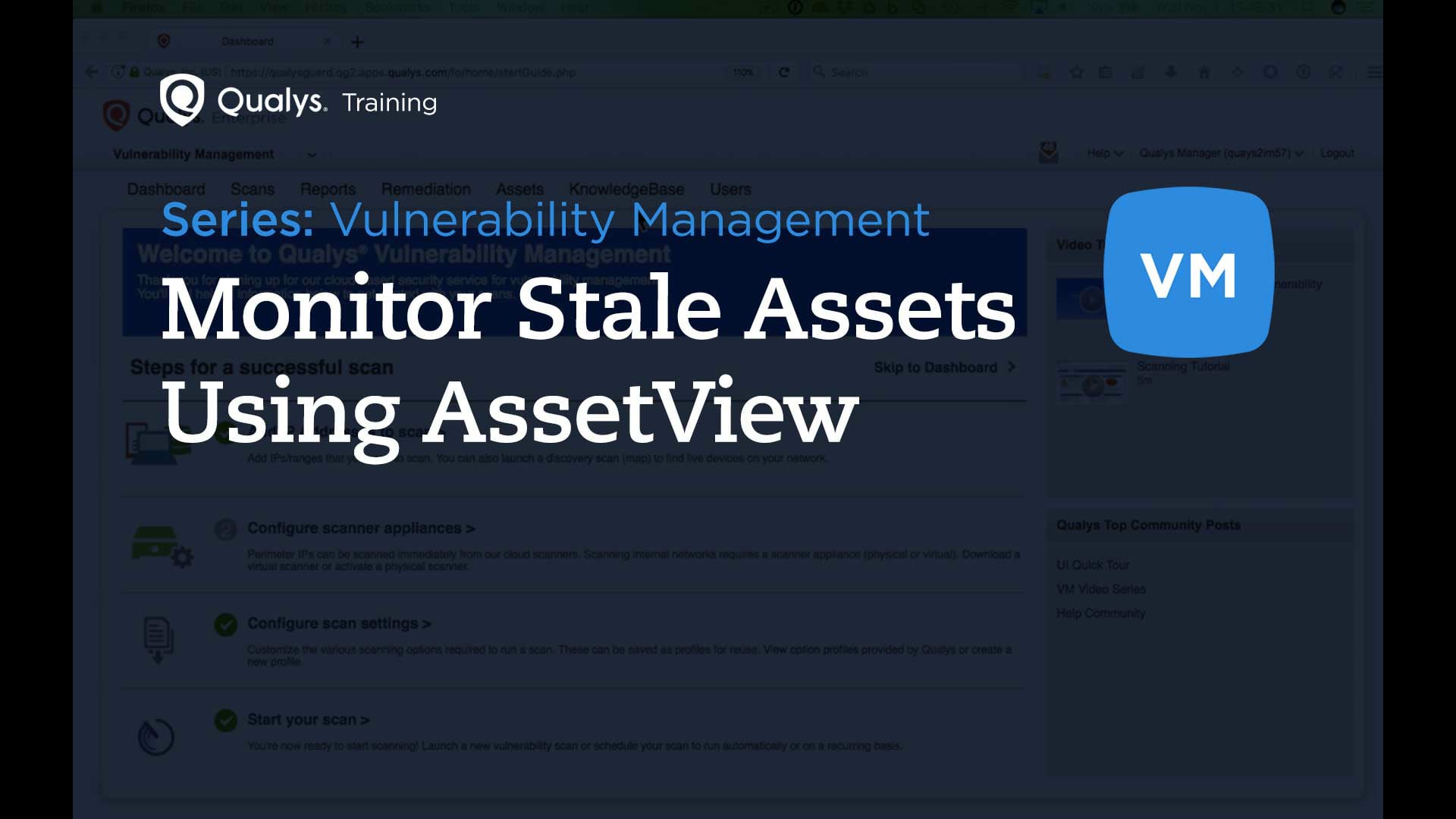 Monitor Stale Assets Using AssetView