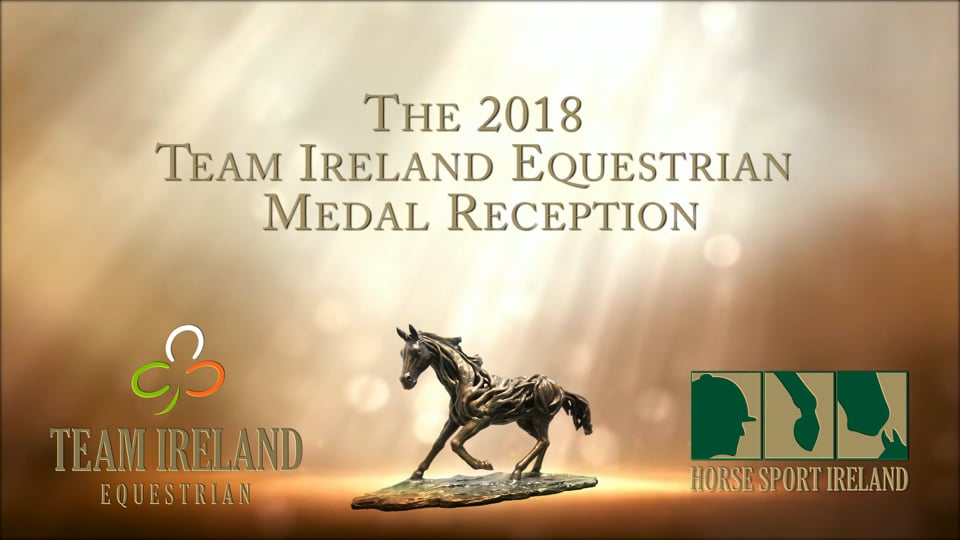 Team Ireland 2018 Medal Reception