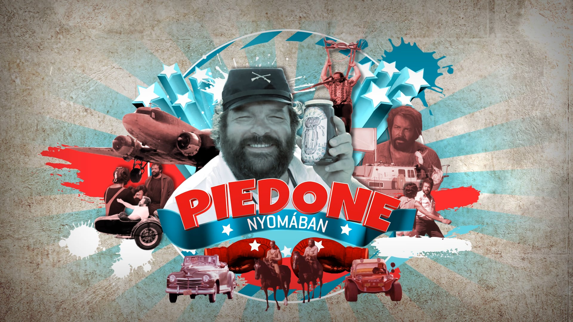 Piedone nyomában (Bud Spencer biographical documentary) | opening titles