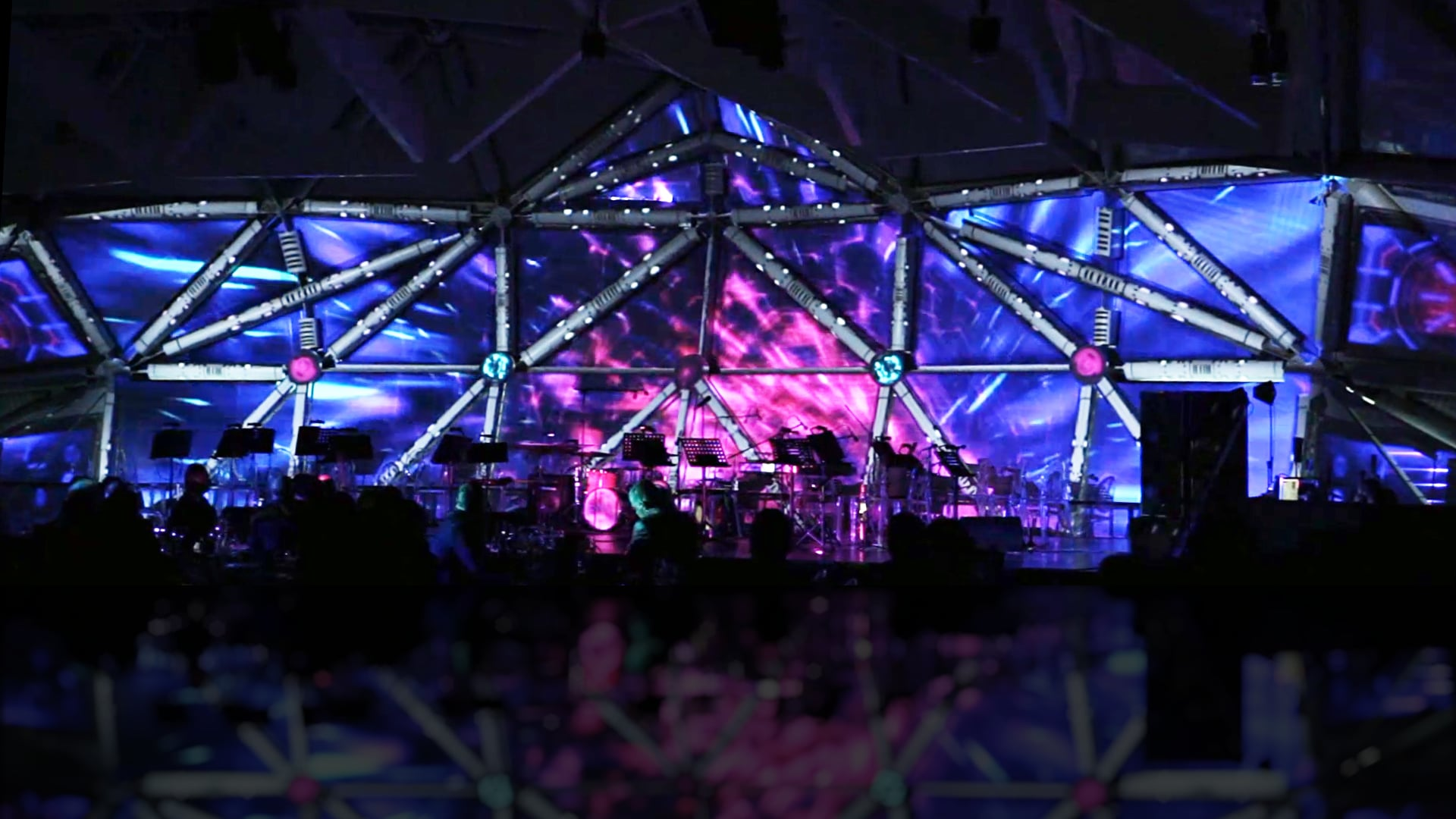 T-Systems Smart Universe event | video mapping