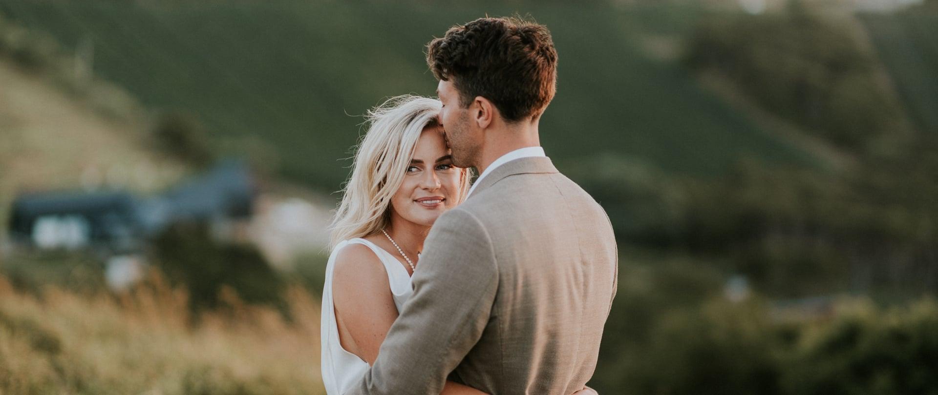 Matilda & Arthur Wedding Video Filmed at Waiheke Island, New Zealand