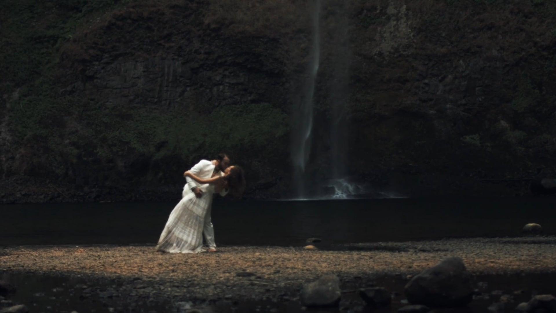 Seneca and Jason Wedding, Silver Falls, OR