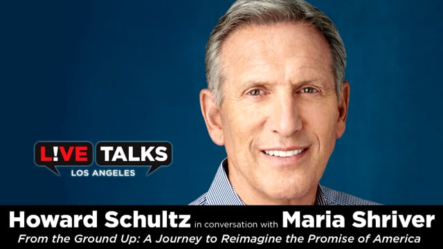 Howard Schultz in conversation with Maria Shriver