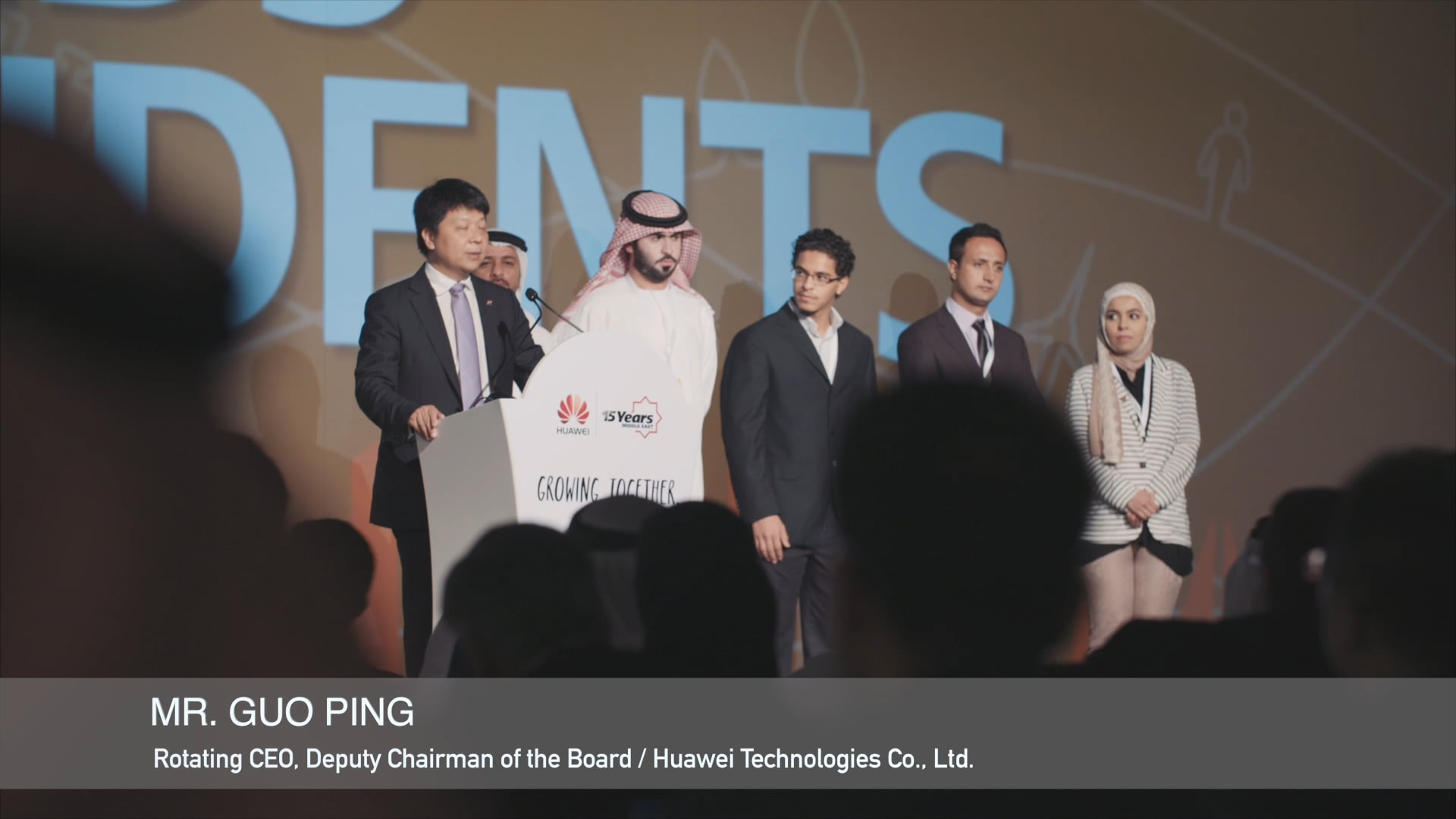 Huawei - 15 years in the Middle East