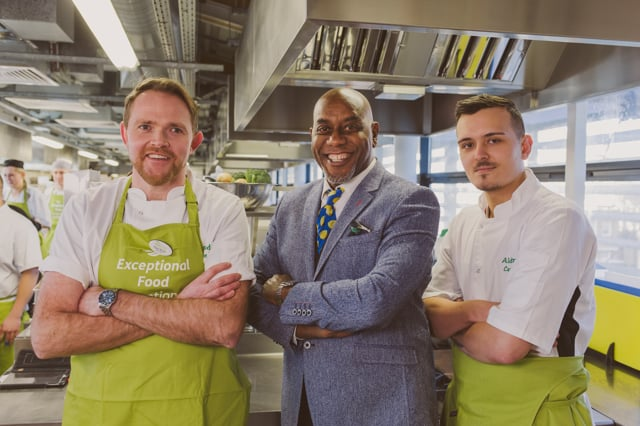 Carebase Cook Book Launch with Celebrity Chef Ainsley Harriott