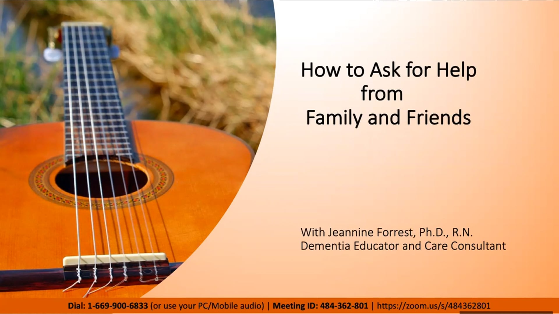 How to Ask for Help from Family and Friends