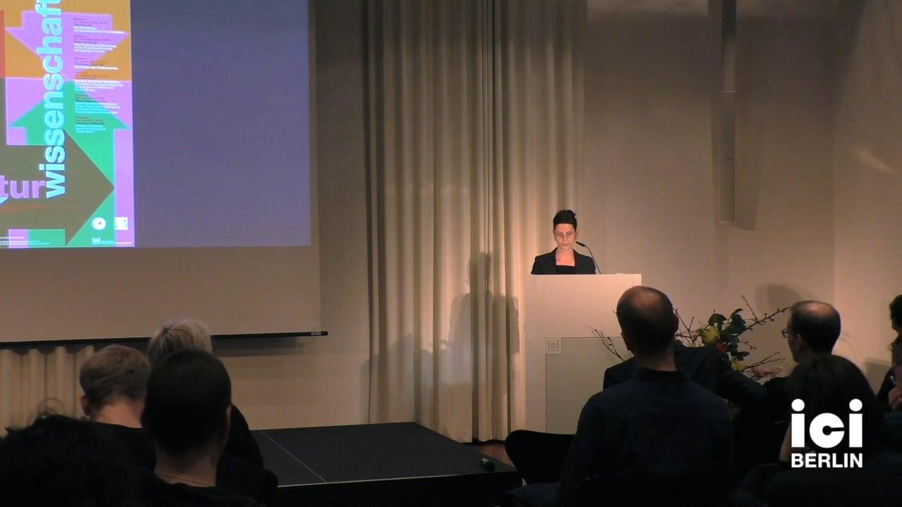 Talk by Jule Govrin