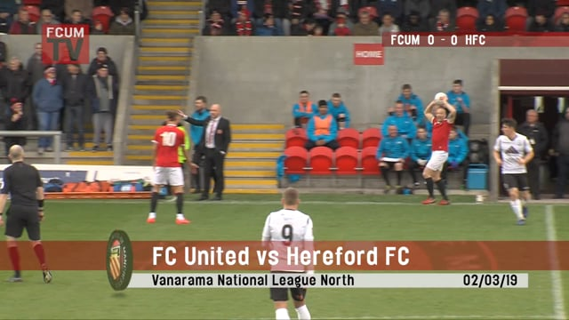 FCUM vs Hereford - 02/03/19 - Highlights