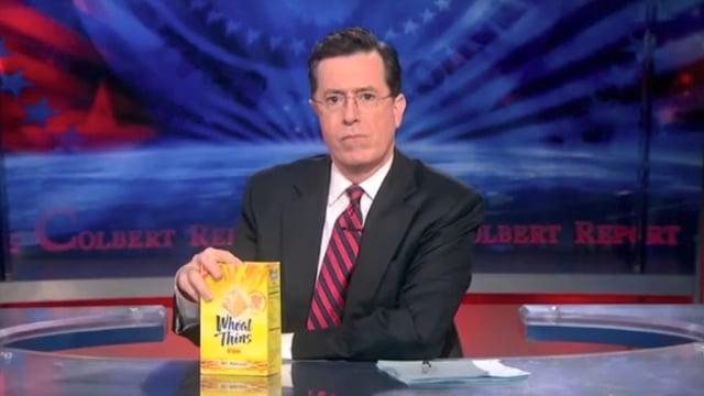 The Colbert Report: Wheat Thins Memo thumbnail