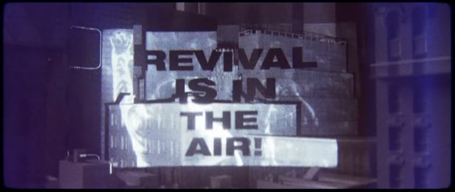 REVIVAL IS IN THE AIR