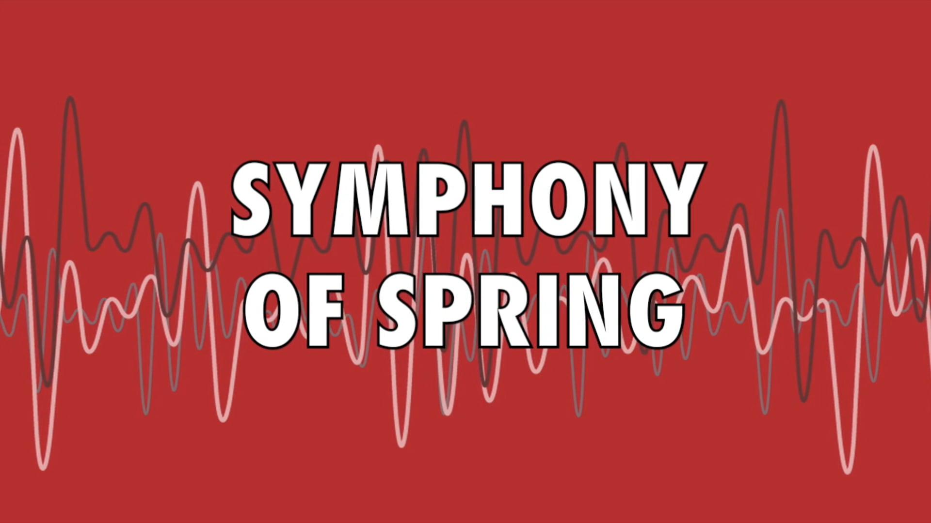 Symphony of Spring Concert Trailer