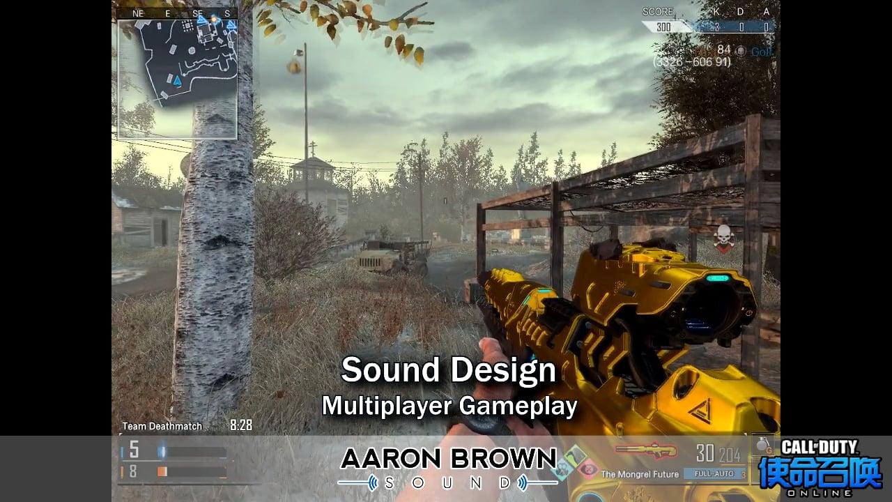 Sound Design Demo - Call Of Duty Online Gameplay