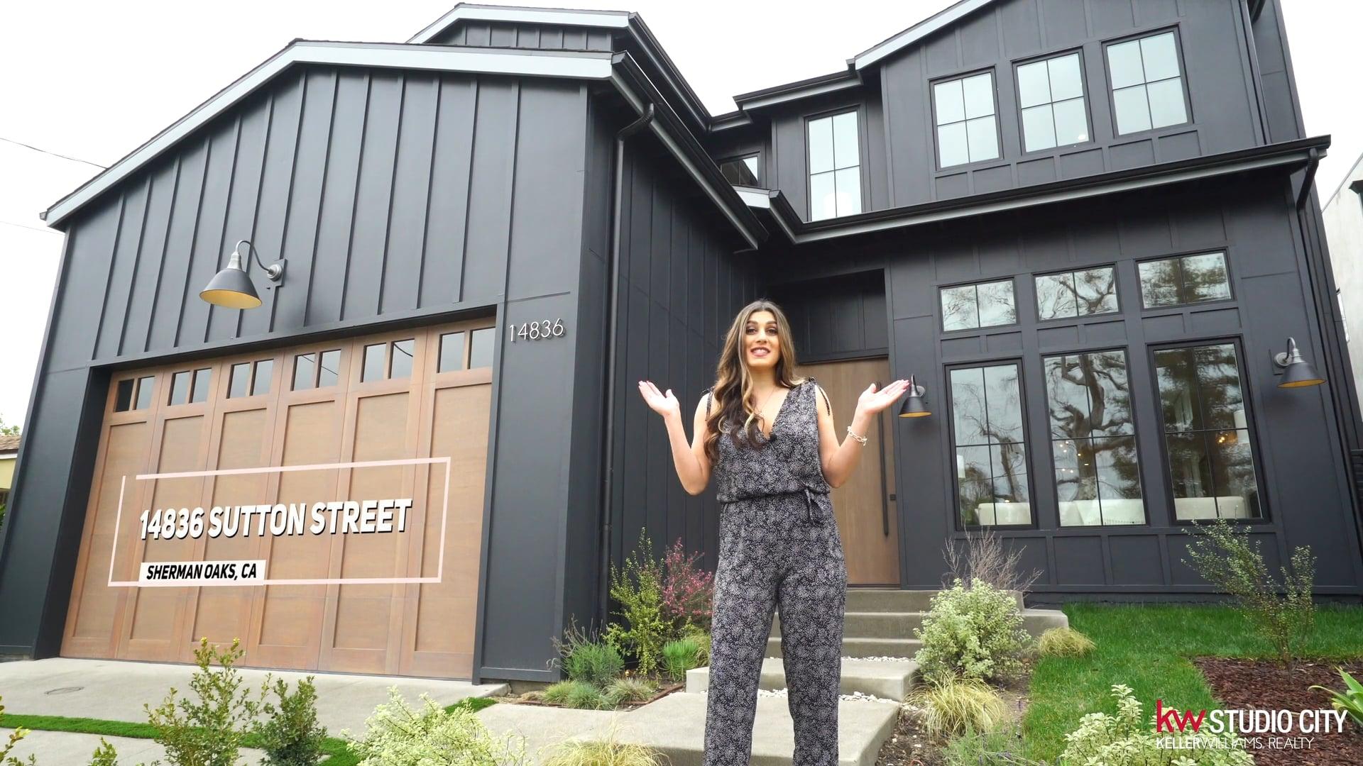 Laila Ajabi - Home Tour of 14836 Sutton Street, Sherman Oaks, CA