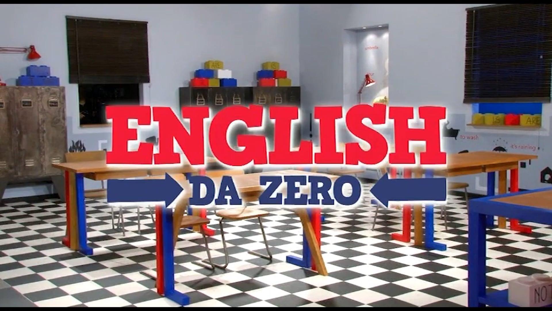 ENGLISH DA ZERO SIGLA