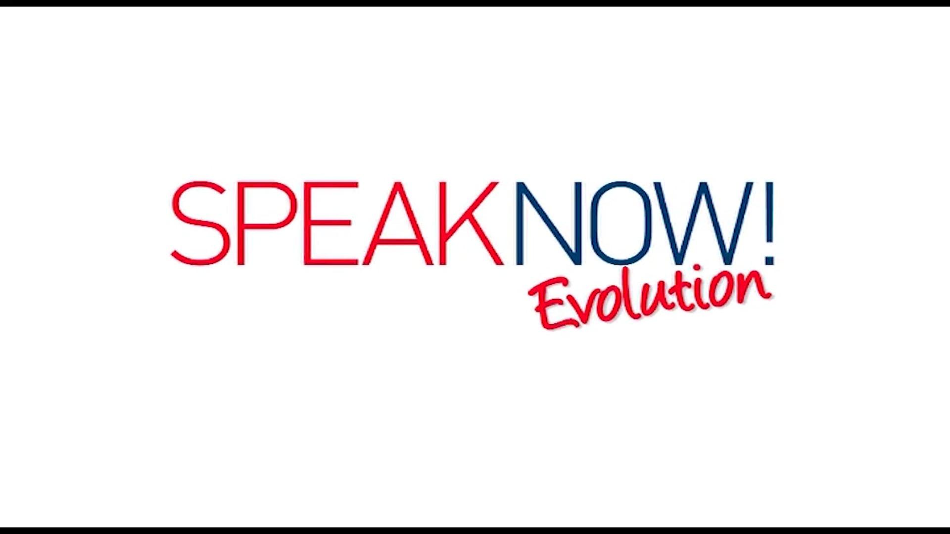 SPEAK NOW EVOLUTION SIGLA