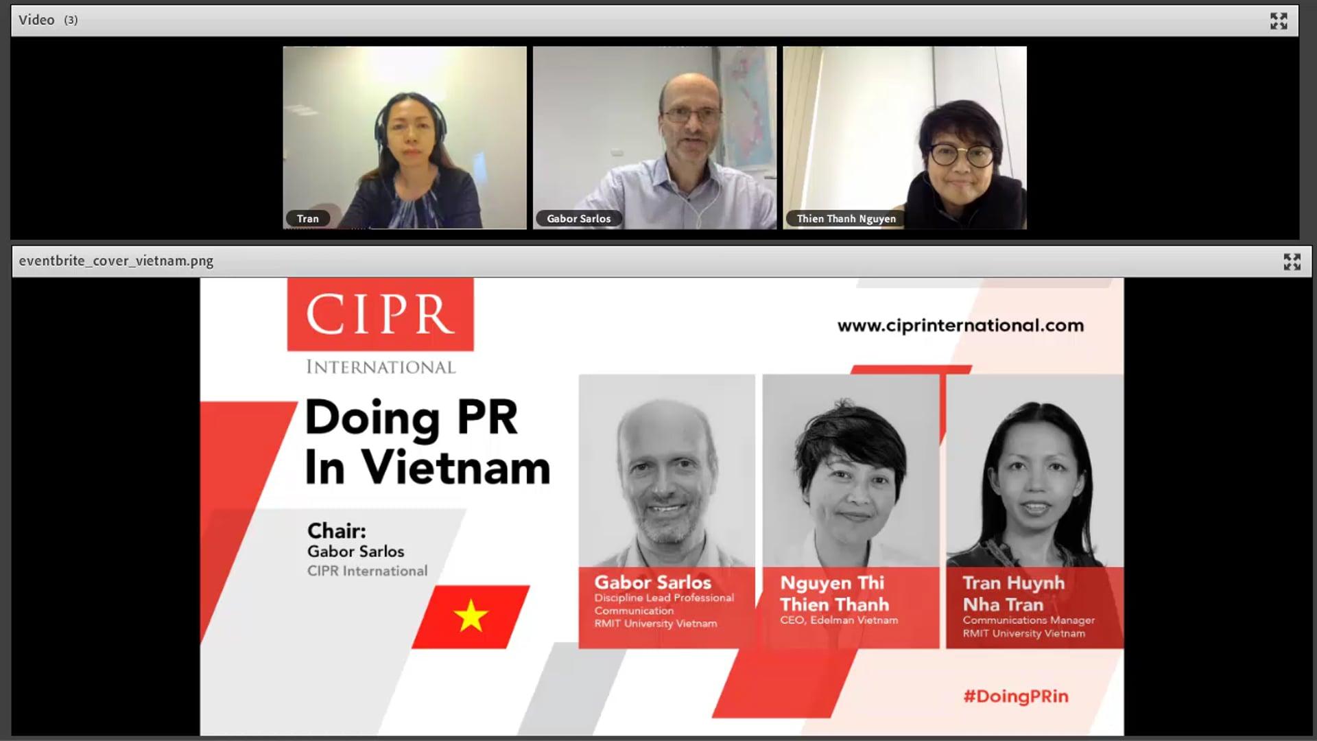 CIPR International - #DoingPR in Vietnam - 2018