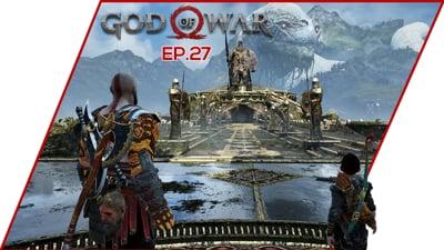 We SURVIVED The GAUNTLET! - God of War Walkthrough EP.27
