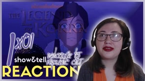 The Legend of Korra 1x01 Welcome to Republic City | Reaction