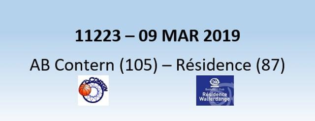 N1H 11233 AB Contern (105) - Résidence Walferdange (87) 09/03/2019