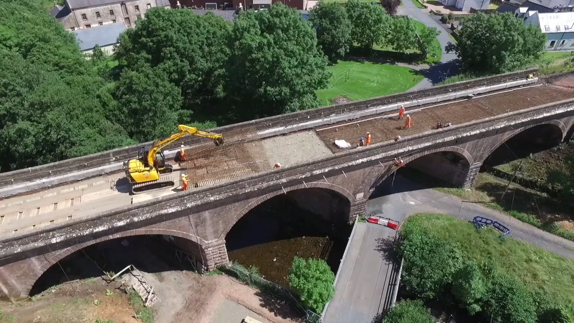 Cample Viaduct deck replacement