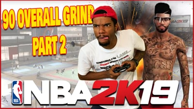 Grind To 90 Overall Pt.2 - Music Beef With 2k Gangster! (End w/ Fortnite)