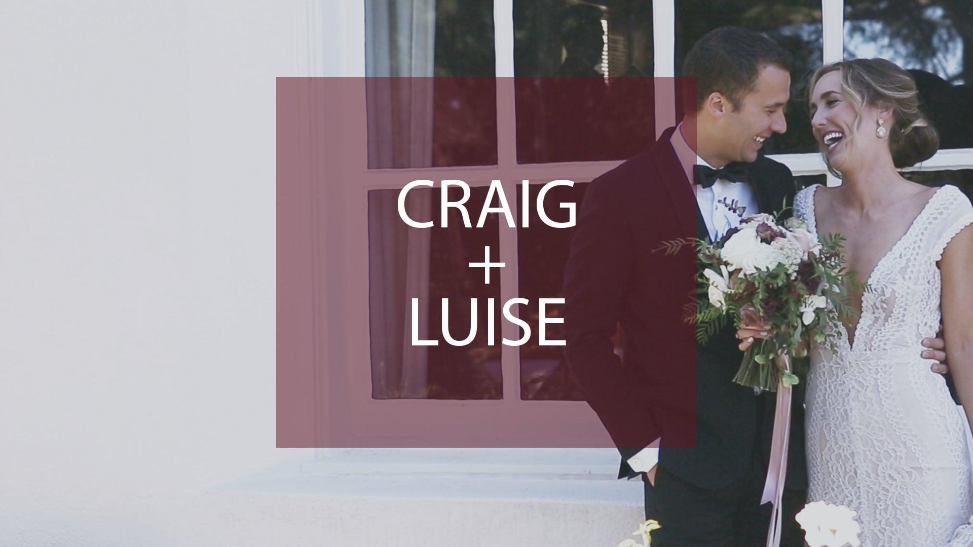 Craig + Luise