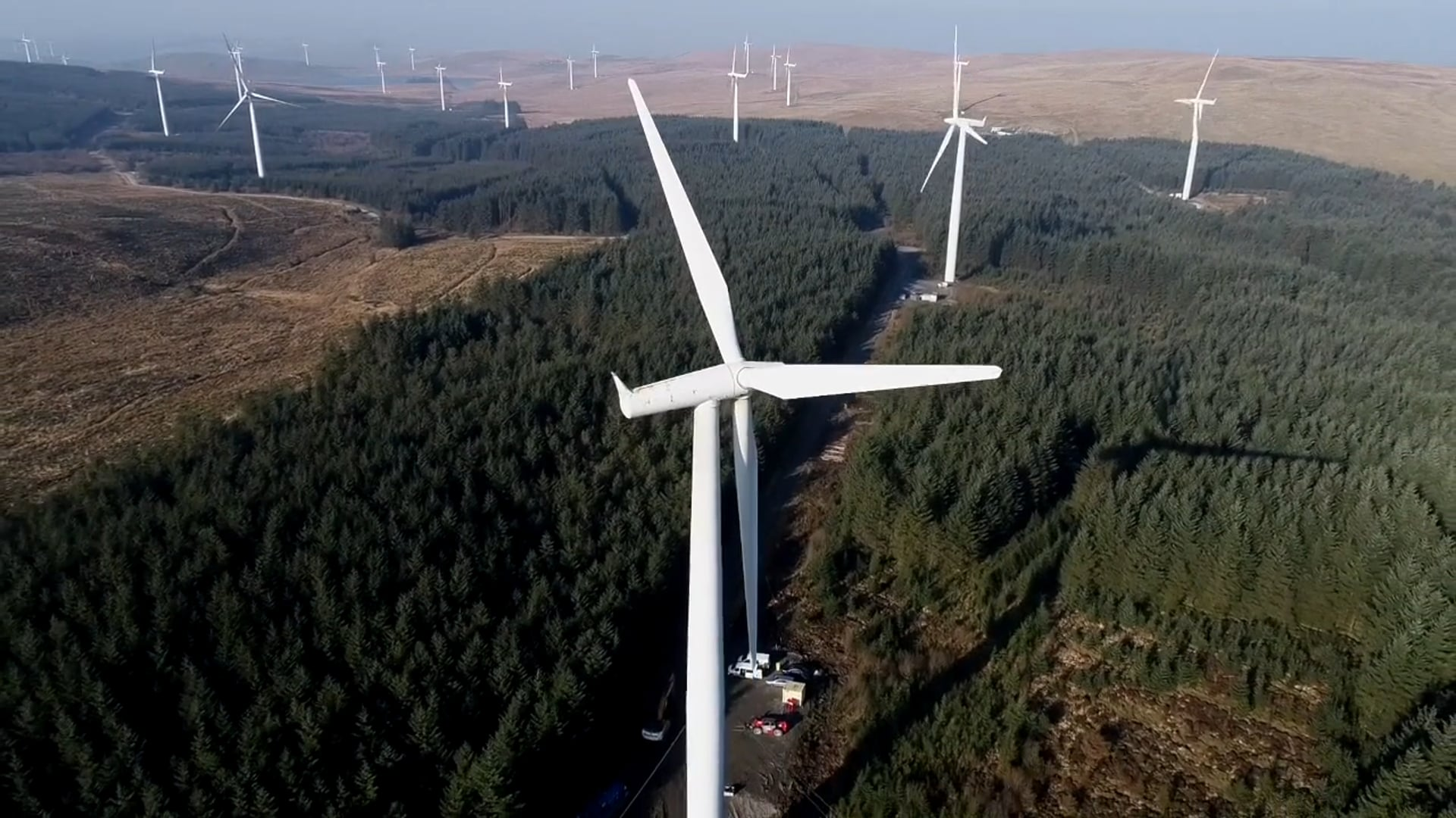 Wind Turbine Demolition